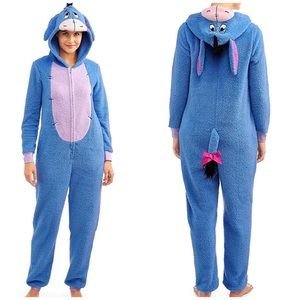 SOLD Eeyore Disney Fuzzy Pajamas Onesie